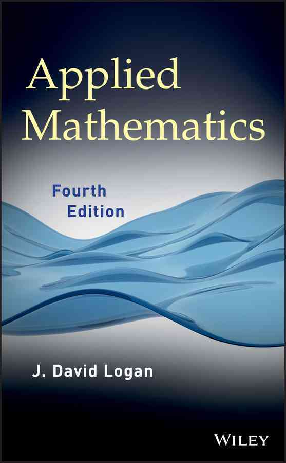 Applied Mathematics By Logan, J. David