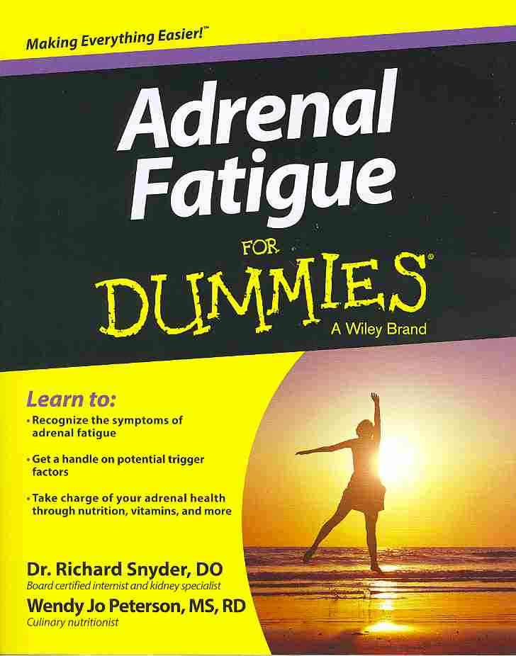 Adrenal Fatigue for Dummies By Snyder, Richard